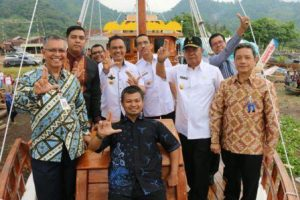 Wagub Bachtiar Luncurkan Kapal Wisata Samudra Krakatau