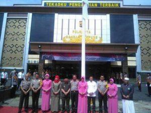 Kapolda Lampung Resmikan Gedung Baru Polresta Bandarlampung