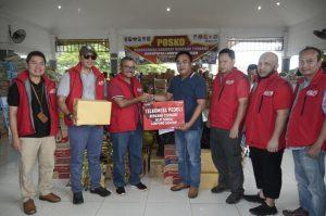 Telkomsel Serahkan Donasi Pelanggan Untuk Korban Tsunami