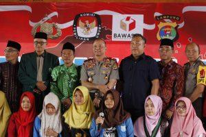 Wakapolda Lampung Ajak Warga Tubabar Gunakan Hak Suaranya