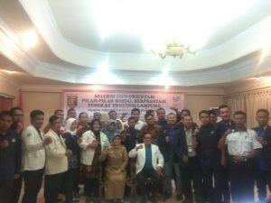 Dinas Sosial Provinsi Lampung Seleksi dan Orientasi Pilar-Pilar Sosial Berprestasi