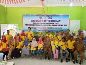 Kadis Sosial Lampung : Disabilitas Harus Optimis, Jangan Patah Arang