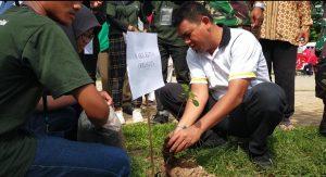Wakil Ketua DPRD Bandarlampung Aep Saripudin : Bersihkan Kali, dan Tanam Pohon, Upaya Cegah Banjir