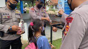Brimob Ramah Anak Indonesia (BRAIN) Kompi 1 C Pelopor Lampung
