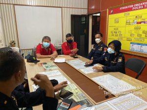 Tim DVI Polda Lampung Ambil Sample DNA Keluarga Korban Kecelakaan Pesawat Sriwijaya Air SJ182
