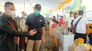 Dengan Protokol Kesehatan 3 M ketat, TPID Lampung Gelar Operasi Pasar