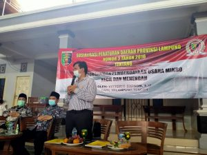 Terapkan Protokol Kesehatan 3 M, Vittorio Dwison Sosialisasi Pencegahan Covid-19 di Punggur