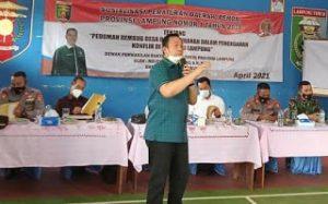 Anggota DPRD Lampung Noverisman Sosialisasikan Perda Perda No 1 Tahun 2016