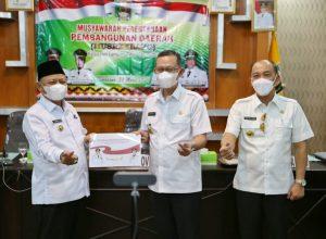 Musrenbang Kabupaten Lampung Timur 2022, Pemprov Lampung Apresiasi Telah Dilaksanakannya Program Kartu Petani Berjaya dan Dorong Penguatan Kompetensi SDM