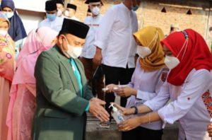 Wakil Bupati Lambar Mad Hasnurin Safari Ramadhan di Pekon Bedudu, Serahkan Bantuan Sarana Tempat Ibadah