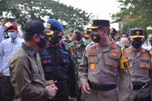 Ketua DPRD Lampung Mingrum Gumay Bacakan Amanat Kapolri dalam Apel Gelar Pasukan Operasi Ketupat Krakatau 2021