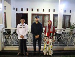 Ade Utami Silaturahmi Temui Mahasiswa Palestina di Lampung