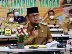 Wakil Bupati Lampung Tengah dr H Ardito Wijaya Buka Rembuk Stunting