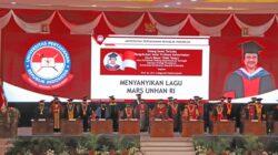 Rektor Unila Aom Karomani Hadiri Pengukuhan profesor Kehormatan Megawati Soekarno Putri