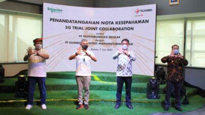 Kerjasama Telkomsel Bersama Schneider Electric, Dorong Pemanfaatan Teknologi 5G untuk Industri 4.0 di Indonesia