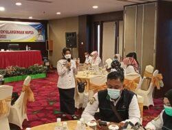 Dinsos Lampung Laksanakan Sosialisasi Pencegahan Penyalahgunaan Napza, Kadis ingatkan Patuhi Protokol Kesehatan