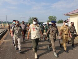 Bupati Lampung Tengah Musa Ahmad Hadiri Pembukaan Latihan Kemampuan Brimob Kecamatan Anak Tuha, Ingatkan Protokol Kesehatan Saat Berlatih