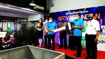 Kasi PPSDBS Dinsos Lampung Pirhot Pakpahan Awasi Pelaksanaan Pengundian Kupon Gebyar Undian Berhadiah di Mal Boemi Kedaton
