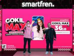 Smartfren GOKIL MAX Kuota Besar Harga Tergokil