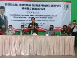 Ketua DPRD Lampung Mingrum Gumay Ingatkan Masyarakat Lamteng Soal Prokes Covid19