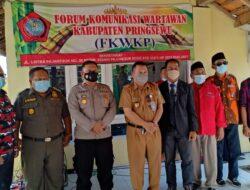 Kepala Dinas Kominfo Mewakili Bupati Pringsewu Menghadiri Acara Halal Bihalal FKWKP
