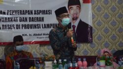 Abdul Hakim Minta Pemprov Lampung Siapkan Kebutuhan Medis Hadapi Lonjakan Covid19, Warga Diminta Patuhi Prokes