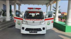 Peringati Hari Bakti Adhyaksa Ke-61 Kejari Pringsewu Serahkan Bantuan Satu Unit Mobil Ambulance