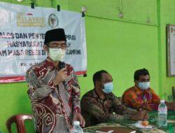 Anggota DPD RI Abdul Hakim Serap Aspirasi Pelaku UMKM di Gisting Tanggamus, Terus Ingatkan Protokol Kesehatan Cegah Covid-19