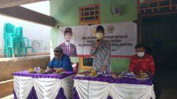 Anggota DPD RI Abdul Hakim Serap Aspirasi Pelaku UMKM Pekon Way Pring Pugung Tanggamus
