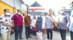 Dinsos Bersama Bulog Divre Lampung Launching Bansos Beras untuk KPM PKH dan BST