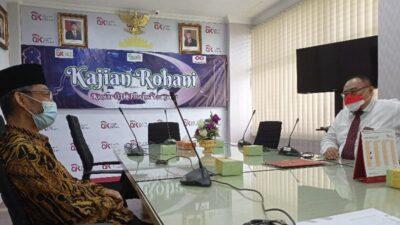 Abdul Hakim Sambangi OJK Lampung Minta Lembaga Keuangan Bantu UMKM Bertahan di Masa Pandemi