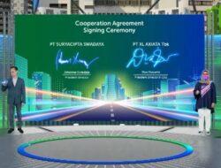 XL Axiata Akan Bangun Jaringan Fiber Optik di Kawasan Industri Suryacipta Karawang