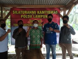 Silaturahmi Dit Intelkam Polda, Apdesi Pesawaran Dukung Sukseskan Pilkades Serentak