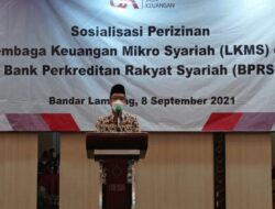 Abdul Hakim Sambut Baik Sosialisasi OJK Soal Perizinan LKMS dan BPRS