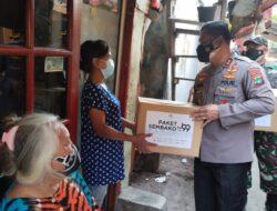 Polres Metro Jakarta Pusat Bagikan 70 Ribu Makanan Olahan dan 5 Ribu Paket Sembako