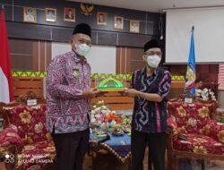 Abdul Hakim Sambangi Pemkab Pringsewu, Bahas Upaya Percepatan Pembangunan Daerah