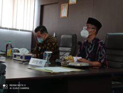 Abdul Hakim Bertemu Bupati Pesawaran, Diskusi Untuk Majukan Desa