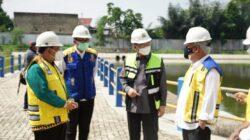 Menteri PUPR Tinjau Pembangunan Rusunawa Unila