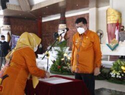 Bupati Lamteng Musa Ahmad Lantik Ketua FKWT