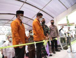 Pantau Kondisi Terkini, Bupati Lamteng Launching Pusat Komando Pengendalian Covid-19