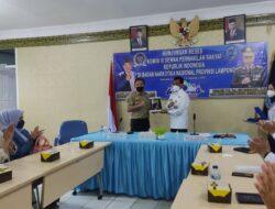 Taufik Basari Kunjungi BNNP Lampung, Soroti Kasus Peredaran Narkoba di Bumi Rua Jurai