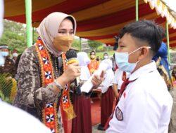 Ketua TP PKK Lampung Riana Sari Arinal Kunker ke Lambar, Ingatkan Lindungi Diri Tetap Jaga Protokol Kesehatan