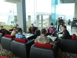 Wabup Lamteng Ardito Hadiri RUPS-LB di Bandar Lampung